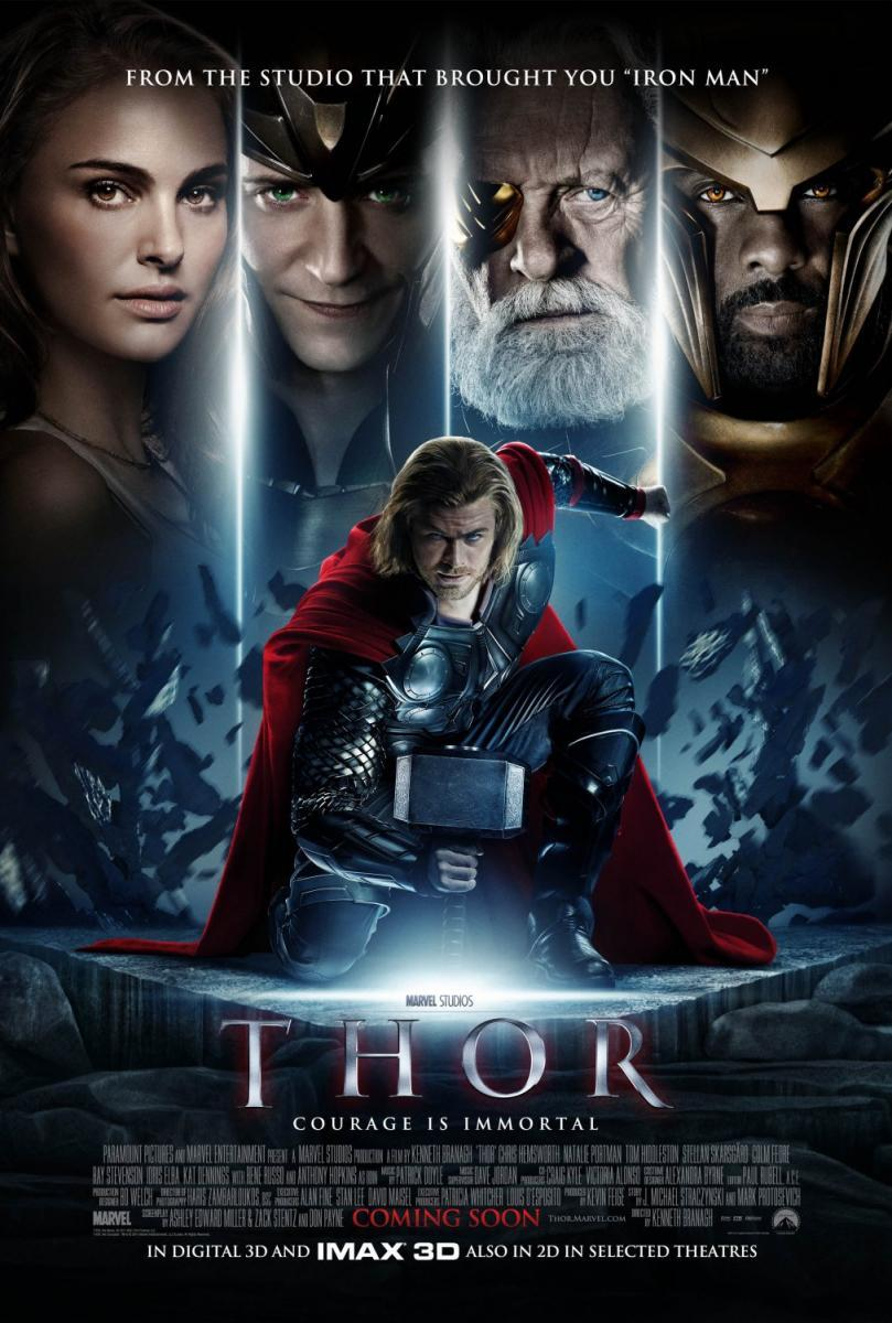 THOR (2011) [BLURAY 720P X264 MKV][AC3 5.1 CASTELLANO] torrent